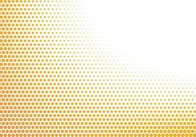 fond abstrait de points jaunes et blancs vecteur