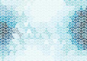 Motif triangulaire en mosaïque