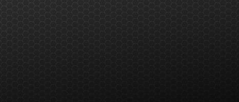 fond horizontal sombre avec des cadres hexagones métalliques. vecteur