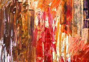 conception de texture de peinture colorée abstraite vecteur