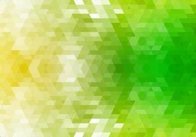 fond de formes géométriques vertes abstraites