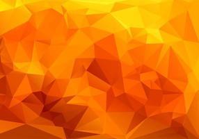 fond géométrique de formes polygonales orange