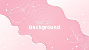conception fluide rose abstraite vecteur