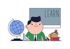 Vecteur enseignant gratuit