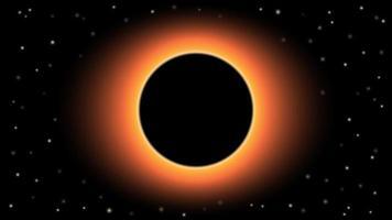 trou noir sur fond noir