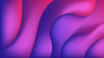 fond de bannière liquide bleu violet