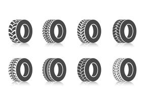 Free Tractors Tires Vector