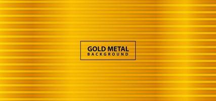 conception de ligne en métal doré brillant