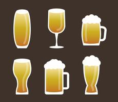 Vecteur de bière gratuit