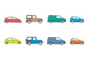 Vecteur de voitures gratuit