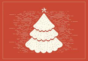 Arbre de Noël Vectoriel gratuit