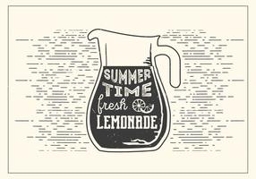 Limonade de vecteur libre
