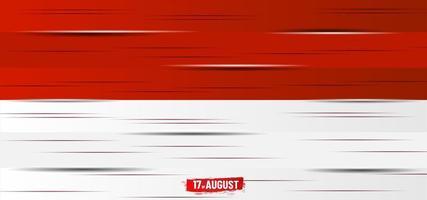 décoration de planche de bois pour le jour de l'indépendance de l'indonésie