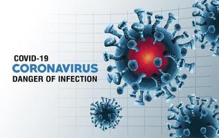 particules pandémiques de covid-19