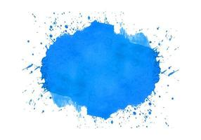aquarelle splash bleu abstrait