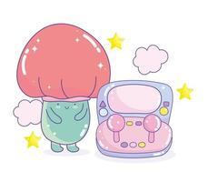 champignon de jeu vidéo et appareil de gadget de console électronique