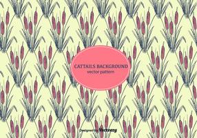Vector de fond Cattails