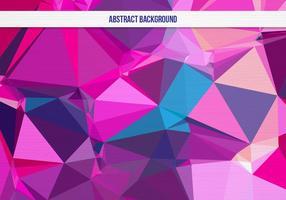 Fond géométrique coloré gratuit vecteur