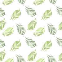motif répété de feuilles tropicales