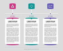 bannières infographiques chronologie avec écrans abstraits
