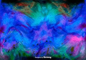 Texture de l'aquarelle vectorielle