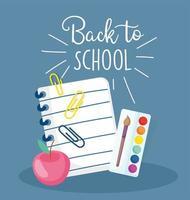 retour au modèle de carte de matériel scolaire