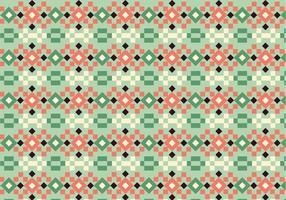 Motif carré en pastel vecteur