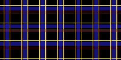 modèle sans couture de plaid tartan de couleur sombre vecteur