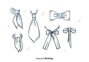 Cravates et Cravat Vector