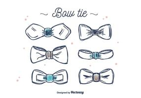 Bow Tie Vector Set