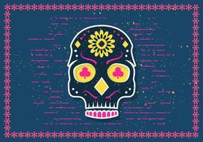 Illustration vectorielle gratuite Halloween Skull Skull vecteur