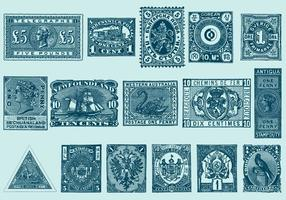 Timbres Vintage