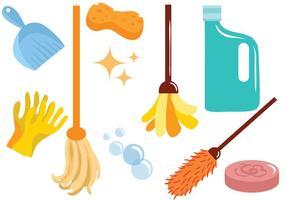 Vecteurs de nettoyage gratuits vecteur