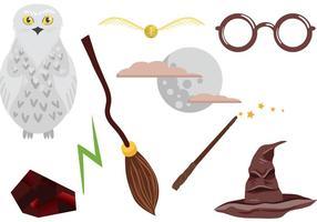 Vecteurs gratuits de Hogwarts vecteur