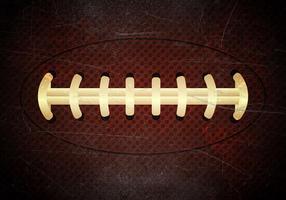 Vecteur d'illustration de balle de texture de football