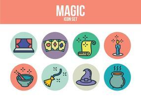 Ensemble d'icônes magique gratuit
