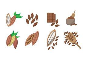 Vecteur de cacao gratuit
