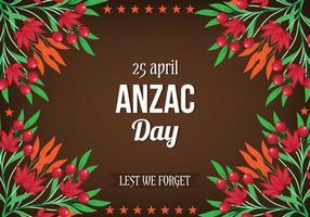 Journée libre Anzac vectorielle vecteur