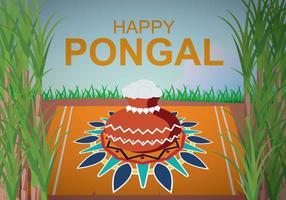 Illustration gratuite de Pongal vecteur