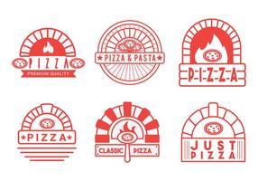 Vector de four à pizza