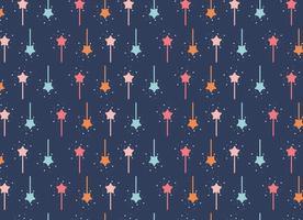 Pixie dust star vector