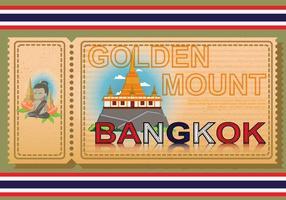 Illustré gratuit de Bangkok vecteur