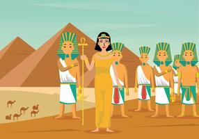 Illustration Cleopatra Gratuite vecteur