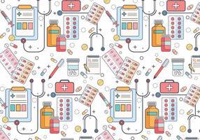 Vector de motif de tampon de prescription