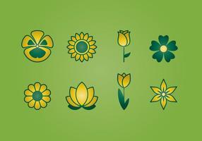 Icônes de fleurs
