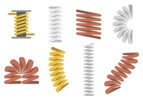 Vecteur d'icônes Slinky gratuit