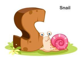 s pour escargot