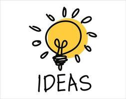 icône d & # 39; ampoule vecteur