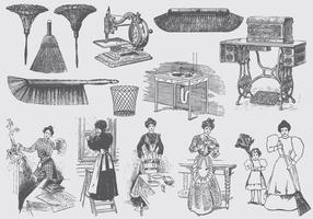Illustrations de la maison vecteur