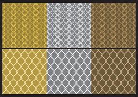 Patterns Chainmail en métal vecteur